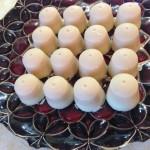White Chocolate Fat Bombs